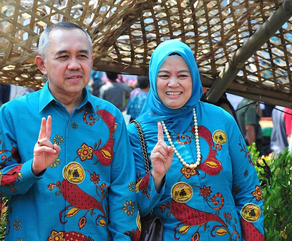 ... provinsi Riau menghadiri acara peringatan Hari keluarga Nasional