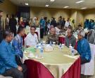 Gubernur Riau Arsyadjuliandi Rachman Serahkan Santunan Kepada Ahli Waris Peserta Gerakan Nasional Peduli Pekerja Rentan