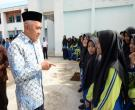 Gubri H Arsyadjuliandi Rachman Berdialog Dengan Siswa Saat Kunjungi SMPN Plus Pasir Pangaraian Kab Rohul