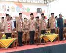Gubri H Arsyadjuliandi Rachman Inspektur Upacara Apel Akbar Pramuka Pelajar Dan Santri Riau Di Jl Diponegoro