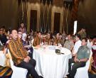 Gubri H Arsyadjuliandi Rachman Memberikan Sambutan Saat Hadiri Seminar Nasional Gabungan Pengusaha Kelapa Sawit Indonesia Cabang Riau Di Ska Co Ex