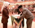 Wagubri H Wan Thamrin Hasyim, Sekda Prov Riau H Ahmad Hijazi Hadiri Penandatanganan  Nota Kesepakatan KUA PPAS APBD-P Prov Riau T.A 2017
