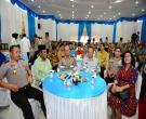 Wagubri Hadiri Syukuran HUT Ke 62 Polantas Polda Riau Di Mako Brimob