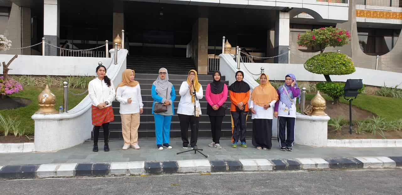 Bersempena Hari Kartini 2019, DPPPA Taja Senam Bersama Masyarakat