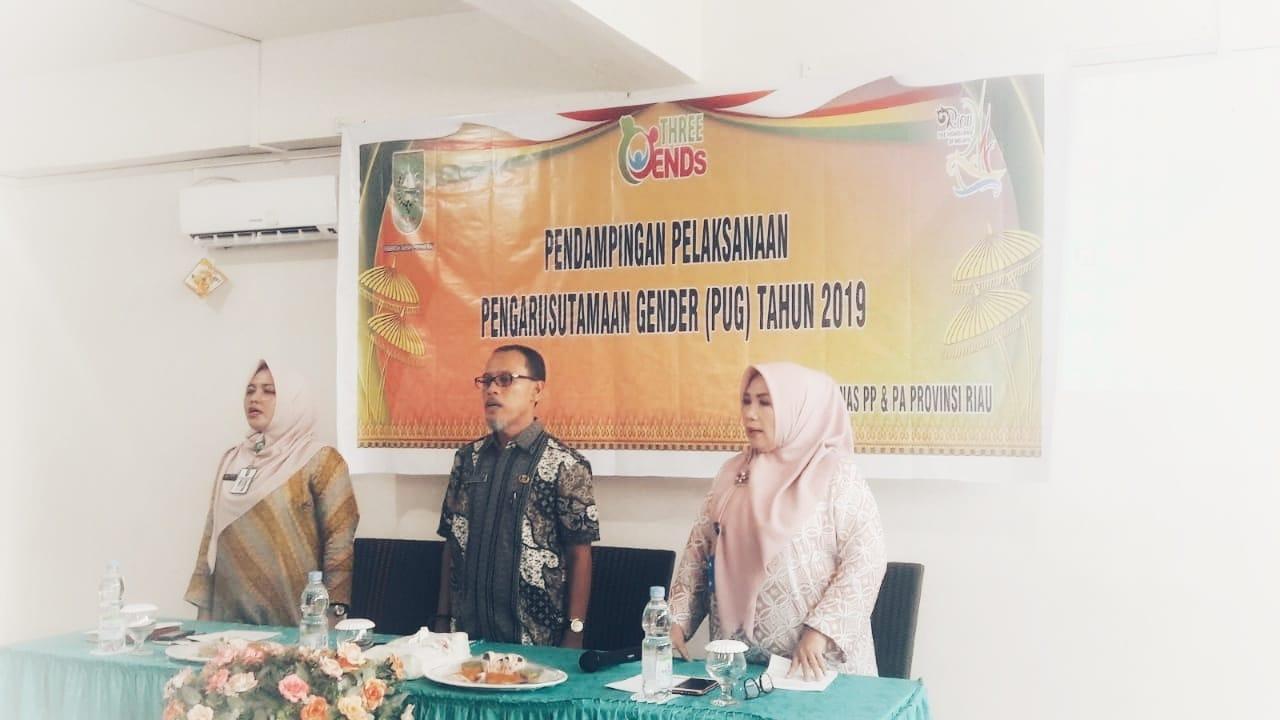 Kegiatan Pendampingan Pelaksanaan Pengarusutamaan Gender (pug) Tahun 2019 Di Kabupaten Indragiri Hulu