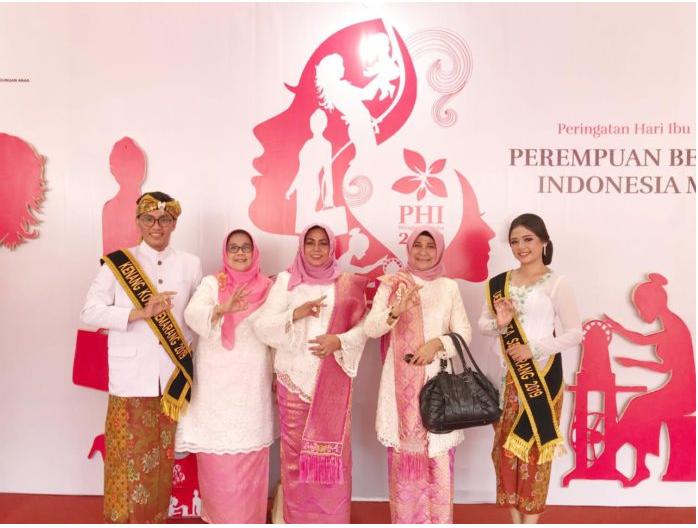 Ketua TP PKK Dan Ketua DWP Provinsi Riau Hadiri Puncak Peringatan Hari Ibu Ke 91 Di Semarang