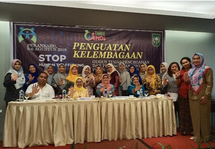 Penguatan Gugus Tugas Pencegahan Dan Penangan Tindak Pidana Perdagangan Orang (TPPO)