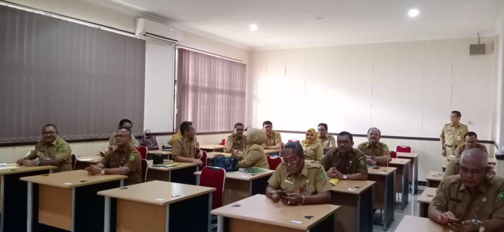 22 Pejabat Eselon II Pemprov Riau Ikut Tes Manajerial