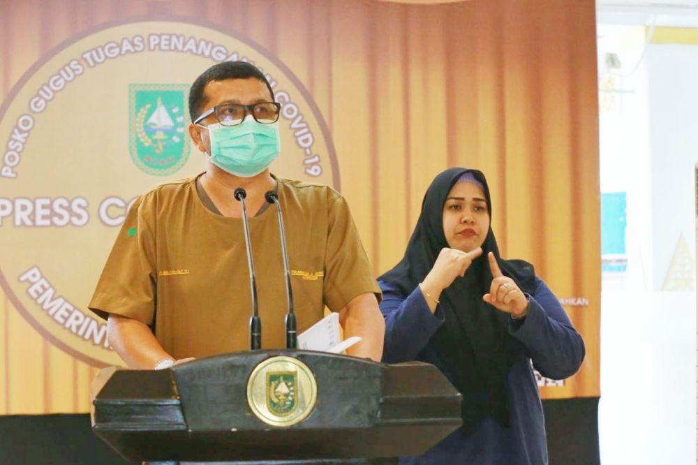 Dinkes Riau Akan Supervisi Ke BRI Cabang Sudirman
