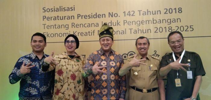 Gubri Akan Bangun Gedung Riau Creative Hub