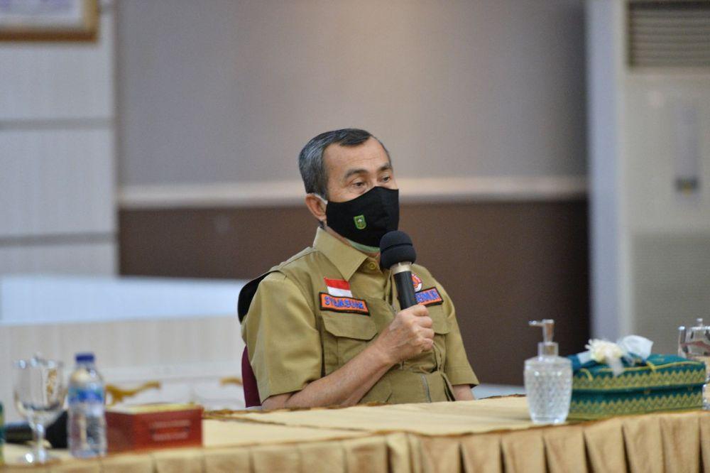 Gubri Bakal Evaluasi PSBM Di Pekanbaru