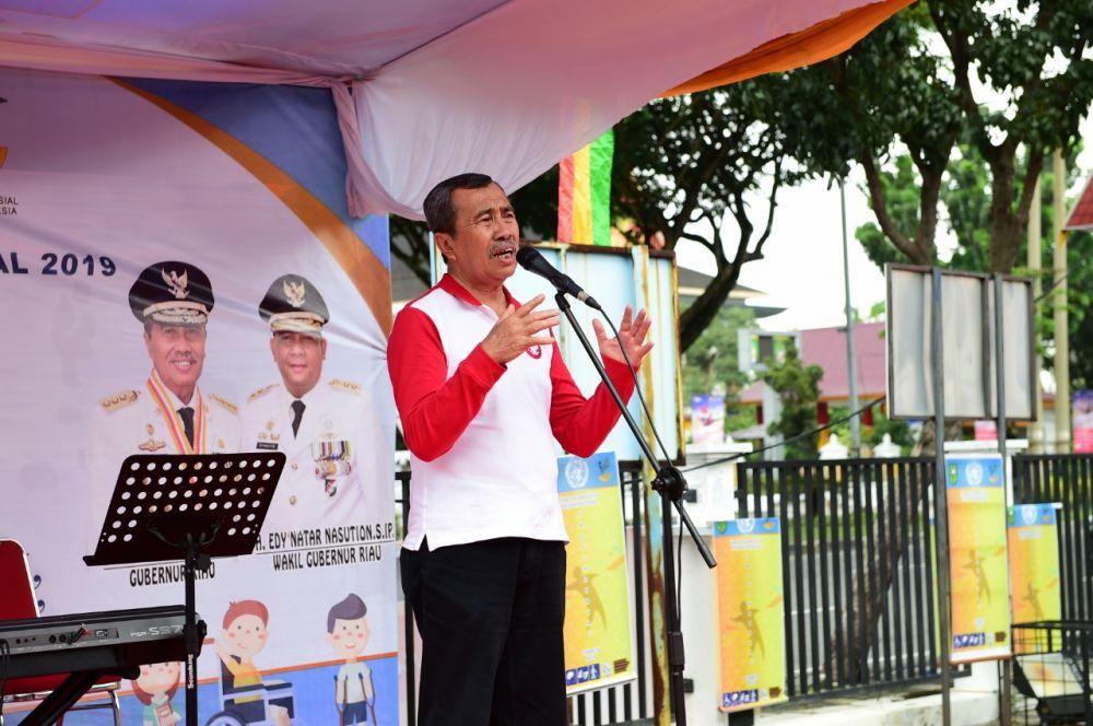 Gubri Beri Kesempatan Bagi Penyandang Disabilitas Untuk Bekerja Di Pemprov Riau