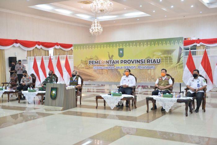 Gubri Ikuti Rapat Penanganan Covid Bersama ...