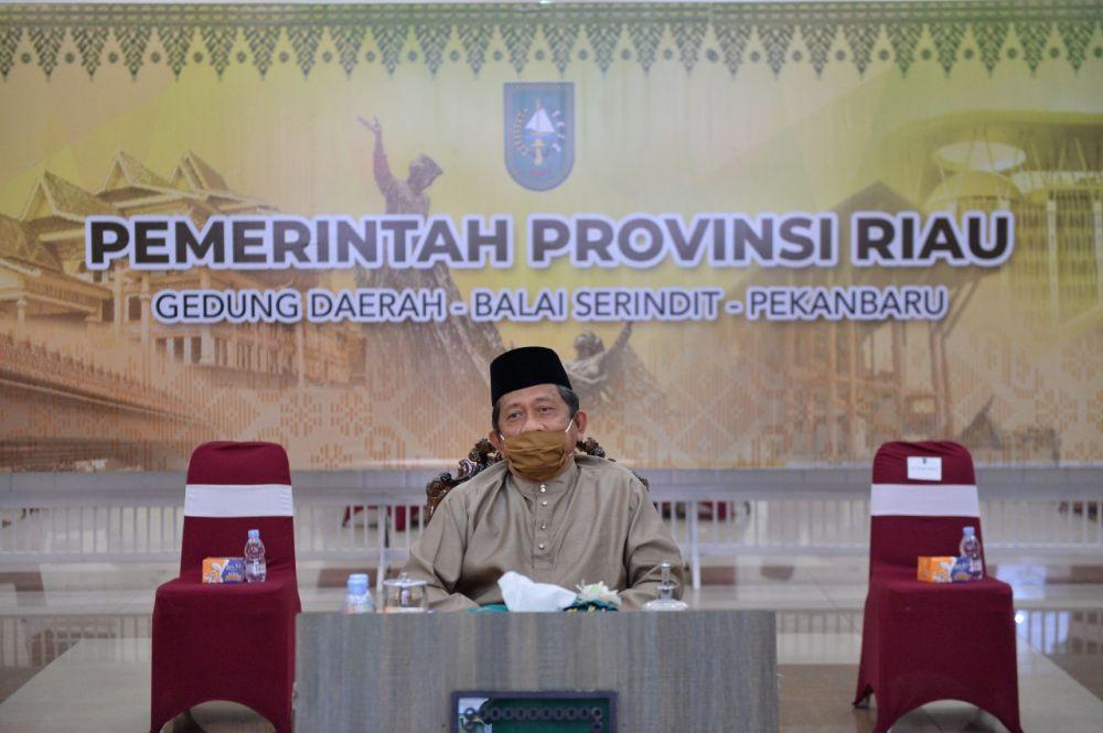 HUT Siak Ke-21, Sekdaprov Riau: Momentum Perkuat Sinergi Bersatu Bangun Daerah