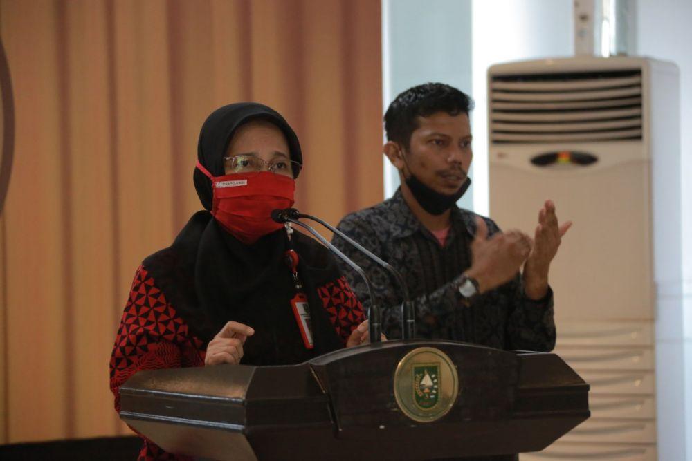 Kadiskes Riau: Limbah Covid-19 Dibuang Ke Luar Riau