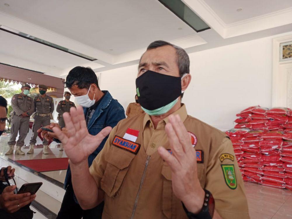 Pandemi Belum Berakhir, Gubri Ajak Masyarakat Bijaksana Sampaikan Aspirasi