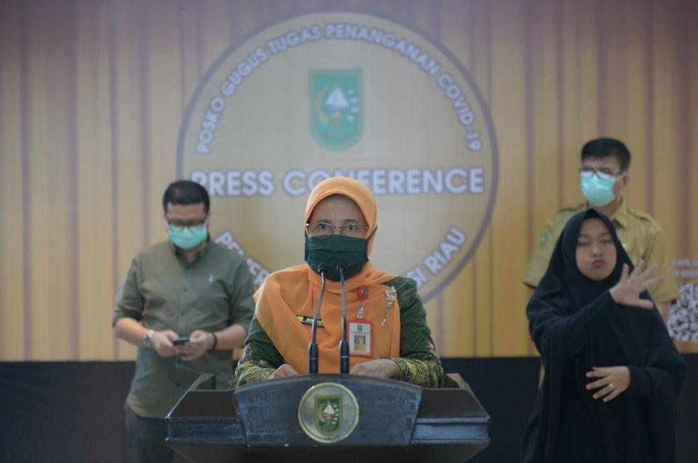 Pasien Sembuh Covid-19 Di Riau Alami Peningkatan