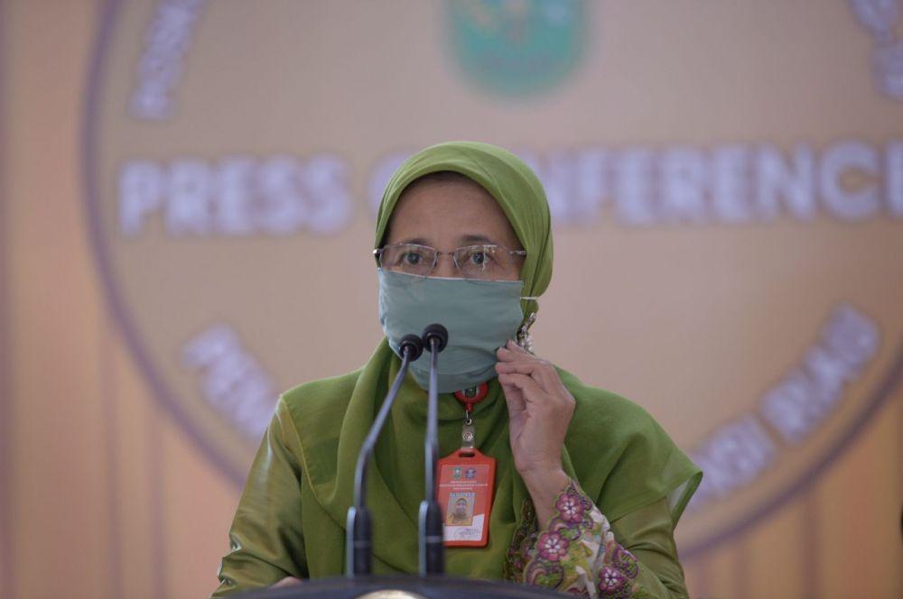 Pekanbaru Masih Tertinggi Pasien Positif Di Riau