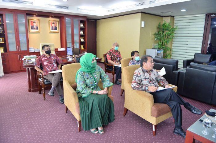 Pemprov Riau Gelar FGD Percepatan Pelaksanaan Anggaran Pasca Evaluasi Raperda Tentang Perubahan APBD TA 2020