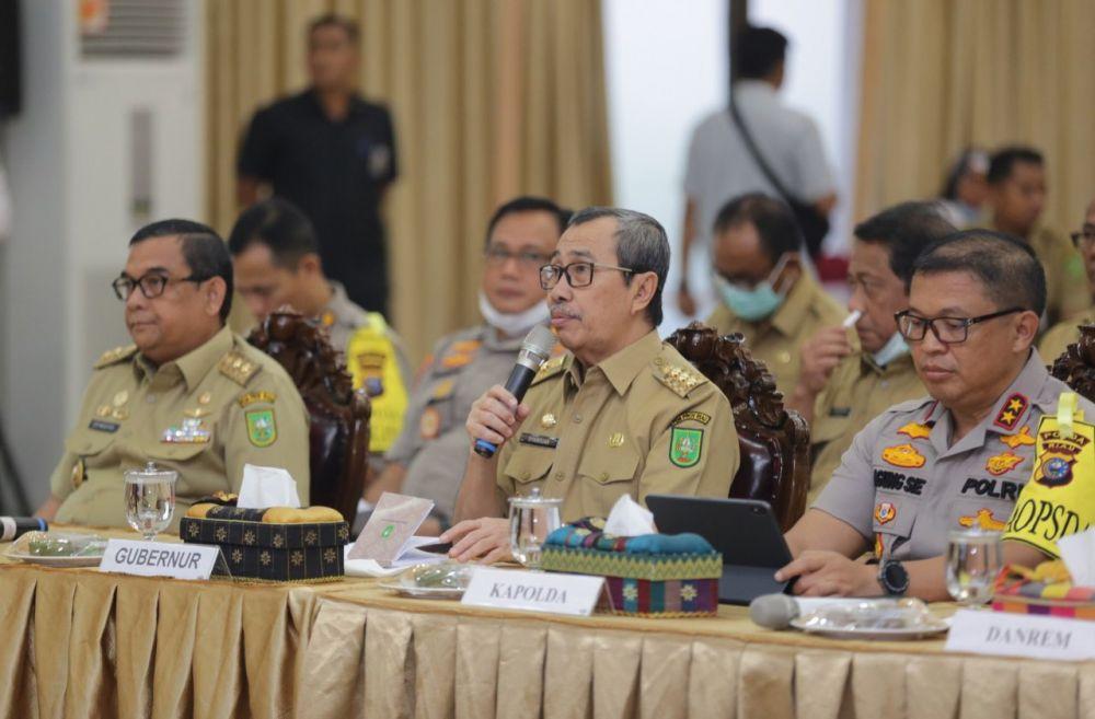 Penanganan Covid-19, Pemprov Riau Siapkan Anggaran Rp80 Miliar