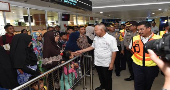 Gubri Sidak Angkutan Lebaran 1438 H 2017 M Di Bandara SSK II